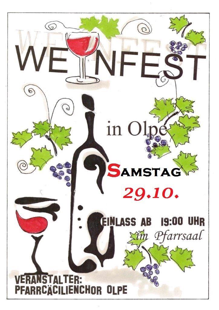 Weinfest 2016 des Pfarrcäcilienchors Olpe